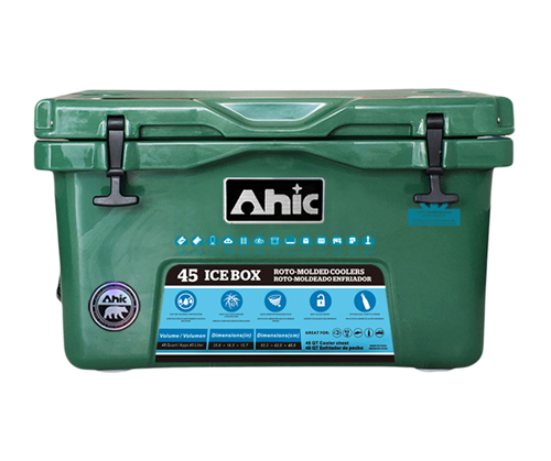 AH45 Green Cooler Box